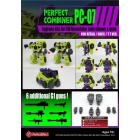 Perfect Effect - PC-07 Perfect Combiner Upgrade Set - MIB