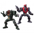 Diaclone Reboot - DA-25 Powered Suit Alpha and Beta Set