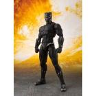 S.H.Figuarts - Avengers - Infinity War - Black Panther & Tamashii Effect Rock