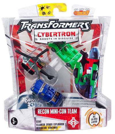 Cybertron - Recon Mini-Con Team - MOC