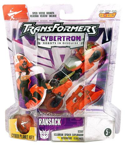 Cybertron - Ransack - MOC