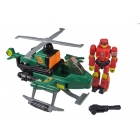 Transformers G1 - Action Master Helicopter w/Over-Run - Loose 100% Complete