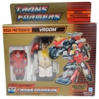 Transformers G1 - Pretender Vroom - MIB
