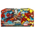 Marvel Transformers Crossovers - Spider-Man and Iron Man - MIB