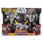 Star Wars Transformers Crossovers - Han Solo and Chewbacca - MISB