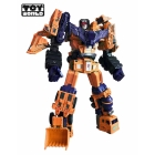 TW-C07E Orange Constructor Full Set of 6 Figures | Toyworld