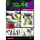 Perfect Effect - PC-06 Perfect Combiner Upgrade Set - CW Devastator - MISB