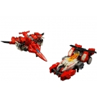 X2 Toys - XT005 Gemini Set of Furrow & Rotor - Loose Complete