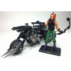 G.I. Joe Ninja Force Zartan with Cold Slither Cycle G.I. Joe Club 2018 Exclusive