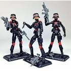 G.I. Joe Cobra Night Stalkers Female Troopers 3-pack G.I. Joe Club 2018 Exclusive