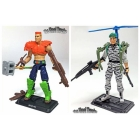 G.I. Joe The Final Twelve Lt. Falcon & Road Pig GI Joe Club 2018 G.I. Joe Club 2018 Exclusive