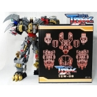 Transform Dream Wave - TCW-06 POTP Dinobot Volcanicus - Add-on Kit - MIB