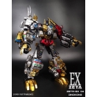 Zeta Toys - EX-04 Dinokong - Dino Combiner - Metallic Set of 5 - MISB