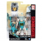 Transformers Titans Return - Deluxe Brainstorm & Teslor - Limited Edition Exclusive - MOSC