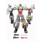 Transformers Power of the Primes Volcanicus Dinobot Combiner - Set of 6 - Loose 100% Complete