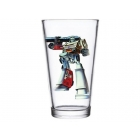 Transformers Megatron Pint Glass