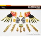 DNA Design - DK-07 - Predaking Upgrade Kit - MIB