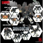 Fansproject - Saurus Ryu-Oh - Dinoichi - MISB