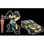 Transformers Adventure TAV-EX Black Knight Bumblebee