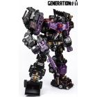 Generation Toy - GT-88 - Gravity Builder Set - Black Judge LE500