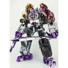 Havoc Car Combiner Set of 5 Metallic Version | Transformmission
