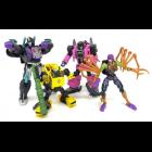 Worlds Collide Set of 4 | Transformers Generations Buzzworthy Bumblebee
