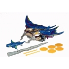 Beast Wars - Transmetals - Depth Charge - Loose - 100% Complete