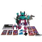 Reissue - Decepticon Piranacon - G1 Commemorative Seacons Set - Loose - As Shown