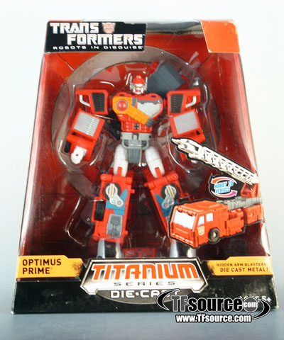 Titanium - Robots in Disguise - Optimus Prime - MISB