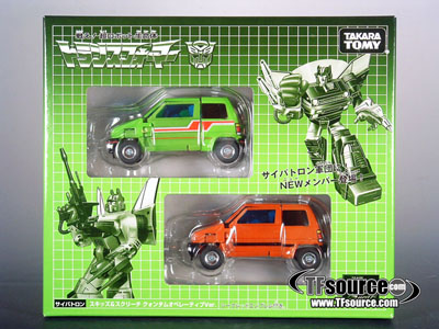 Transformers Generations 2009 Volume 03 - Exclusive Skids & Screech Set - MIB - 100% Complete