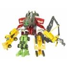 EZ Collection - Devastator - Movie Colors - Set of 7 Figures -  Loose - 100% Complete