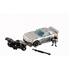 HFTD - Human Alliance  - Autobot Jazz  w/Capt. Lennox  -  Loose - 100% Complete
