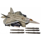 Transformers the Movie - Voyager Class Starscream - Loose - Missing 1 Missile