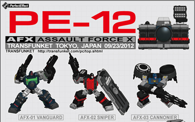 PE-12 - Perfect Effect - AFX Assault Force X - Camera Set