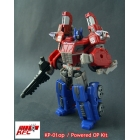 KFC - KP-01OP - Shoulder and Missile Kit for Optimus Prime