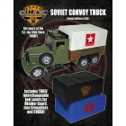 JoeCon 2012 - Soviet Convoy Truck with 3 Tops - MISB