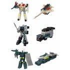Kabaya Gaia Scramble Assortment 7 - Set of 3 Figures - Motormaster Silverbolt Onslaught