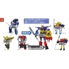 Transformers Go - Goukenzan Set of 3 Figures
