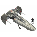 Star Wars Transformers  - Darth Maul Sith Infiltrator  - Loose - 100% Complete
