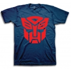 Transformers T-Shirt - Autobot Logo - Navy Blue