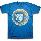 Transformers T-Shirt - Autobot Logo - Retro Worn Circle Logo