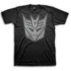 Transformers T-Shirt - Decepticon Logo - Black
