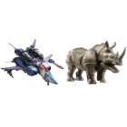 Transformers 2014 - Generations Voyager Class - Wave 01 - Set of 2 - Doubledealer & Rhinox