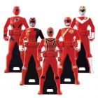 Power Rangers - Gokaiger - Ranger Key Set 01