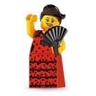 Lego Minifigures - Series 6 - Flamenco Dancer