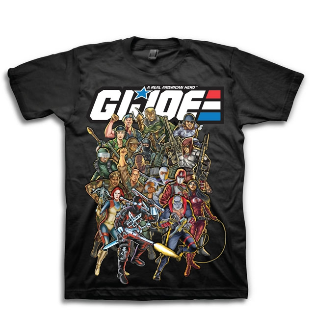 GI Joe T-shirt - Joes and Cobra