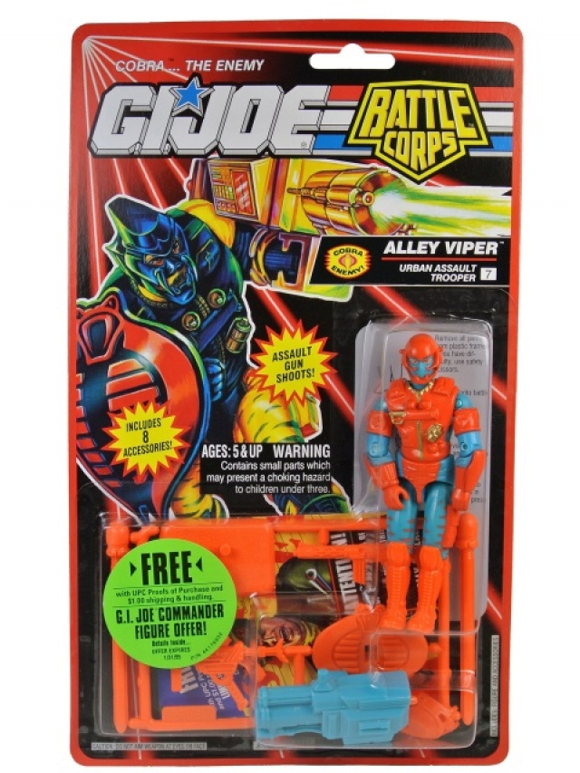 GI Joe - 1994 - Battle Corps - Ally Viper V3 - MOSC