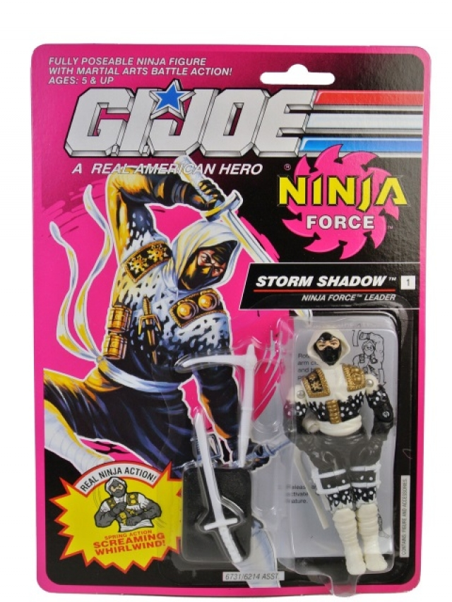 G.I.Joe - Storm Shadow V3 - MOSC