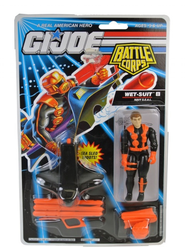 G.I.Joe - 1993 - Battle Corps Wet Suit V4 - MOSC