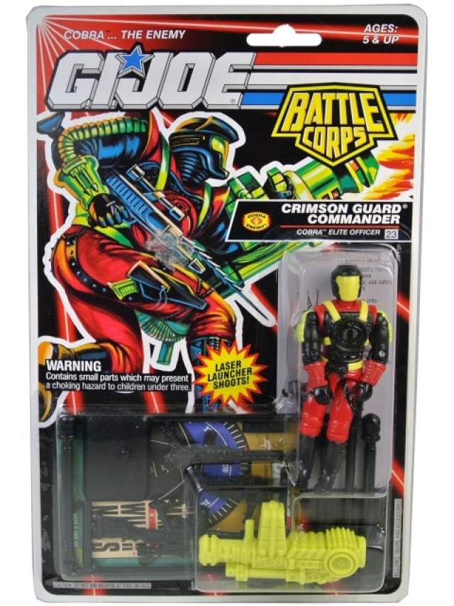 G.I.Joe - 1993 - Battle Corps - Crimson Guard Commander V1 - MOSC